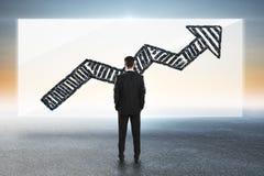 Концепция успеха и финансов Стоковая Фотография RF