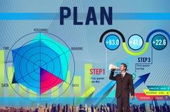 Концепция успеха роста зрения планирования стратегии стоковое изображение rf