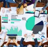 Концепция успеха роста стратегии планирования маркетинга цифров Стоковое Фото
