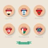 Концепция учить языки Стоковое Изображение
