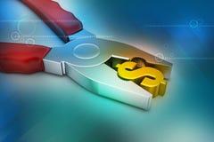Концепция финансового обслуживания Стоковые Изображения