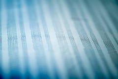 Концепция финансовых данных с номерами Стоковая Фотография RF