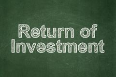 Концепция финансов: Возвращение вклада на предпосылке доски