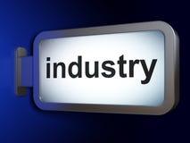 Концепция финансов: Индустрия на предпосылке афиши