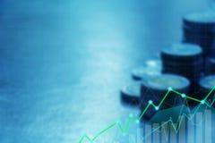 Концепция финансов и вклада Стоковая Фотография RF