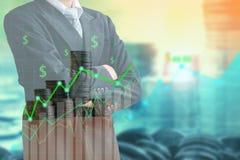 Концепция финансов и вклада Стоковая Фотография