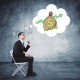 Концепция финансов и дела Стоковое Изображение