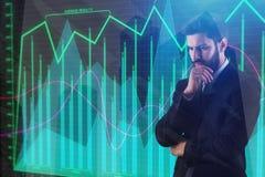 Концепция финансов и исследования Стоковое Фото