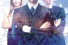 Концепция финансов и партнерства Стоковое Фото