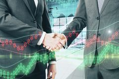 Концепция финансов и торговли Стоковое Фото