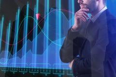 Концепция финансов и торговли Стоковые Изображения