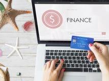 Концепция финансов счетоводства банка проверки имуществ учета Стоковые Фотографии RF