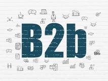 Концепция финансов: B2b на предпосылке стены