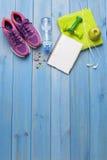 Концепция фитнеса здоровая Стоковое Изображение RF