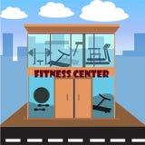 Концепция фитнес-центра Стоковая Фотография RF