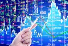 Концепция фондовой биржи Стоковое Изображение RF