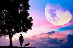 Концепция фото для Silhouetted и депрессии Стоковые Фото