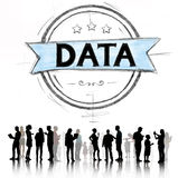 Концепция хранения информационной технологии данных вычисляя Стоковое фото RF