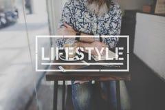 Концепция целей действий хобби жизни образа жизни Стоковые Фото