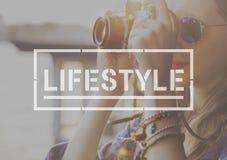 Концепция целей действий хобби жизни образа жизни Стоковое Изображение