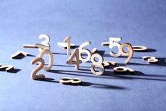 Концепция чисел Стоковая Фотография