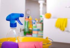Концепция чистки дома Стоковые Фотографии RF