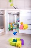Концепция чистки дома Стоковое Изображение