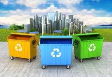 Концепция чистой окружающей среды бесплатная иллюстрация