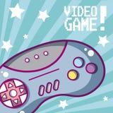 Концепция шаржа видеоигры иллюстрация штока