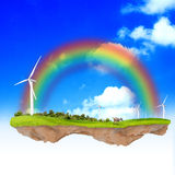 Концепция экологичности фантазии Стоковая Фотография RF