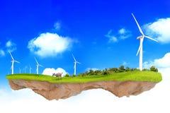 Концепция экологичности фантазии Стоковое Фото