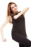 Концепция людей - девочка-подросток в вскользь одеждах Стоковые Фотографии RF