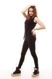 Концепция людей - девочка-подросток в вскользь одеждах Стоковая Фотография RF