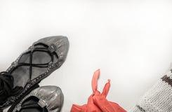 Концепция людей фестиваля лета Баскония танцуя Стоковое Изображение RF