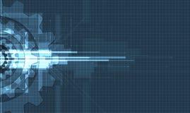 Концепция для корпоративного бизнеса & развития новой технологии Стоковая Фотография RF