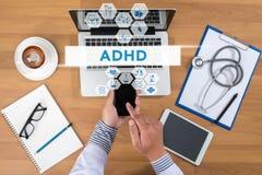 Концепция ADHD Стоковые Изображения