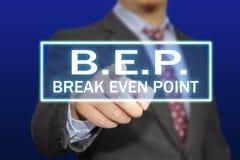 Концепция BEP стоковое изображение