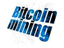 Концепция Blockchain: Минирование Bitcoin на предпосылке цифров
