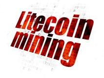 Концепция Blockchain: Минирование Litecoin на предпосылке цифров