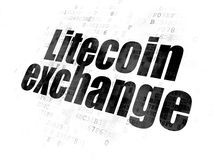 Концепция Blockchain: Обмен Litecoin на предпосылке цифров
