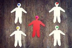 Концепция colectivity и руководства Стоковое Фото