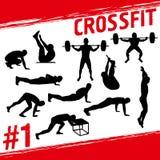 Концепция Crossfit иллюстрация штока