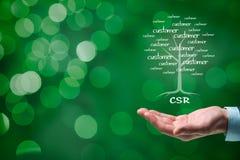 Концепция CSR Стоковые Фото