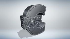 Концепция 3D денег иллюстрация вектора