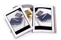 Концепция Ebook Стоковое Изображение RF