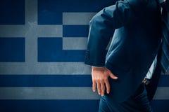 Концепция Grexit стоковое изображение rf