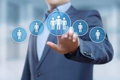 Концепция Headhunting занятости рекрутства управления HR человеческих ресурсов Стоковое Фото