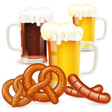 Концепция Oktoberfest иллюстрация вектора