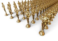 Концепция Oscars иллюстрация вектора