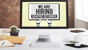 Концепция Visual эскиза график-дизайнера рабочего места творческая стоковые фото